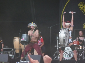 Gogol Bordello at Nova Rock 2009